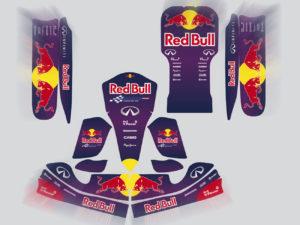 Kit adesivi crystal per Motocross e Go Kart