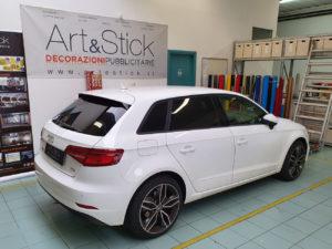 Audi A3 con pellicola oscurata gradazione 05 thiene vicenza