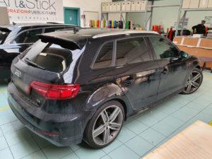 Audi A3 pellicola oscurata gradazione 20 45 thiene vicenza