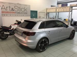 Audi A3 sportback pellicola oscurata solare gradazione 20 45 thiene vicenza