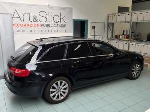 Audi A4 avant-pellicola-oscurata-solare-gradazione-05-thiene-vicenza-oscuramento