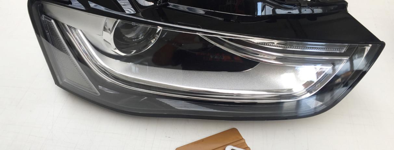 Audi A4 protettivo-trasparente-Bodyfence-su-fanali-anteriori 2
