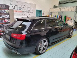 Audi A6 avant pellicola oscurata gradazione 20 45 thiene vicenza