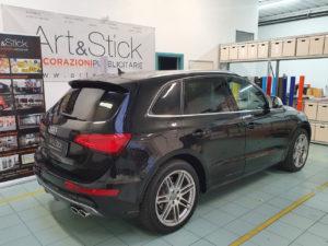 Audi SQ5 con pellicola oscurata gradazione 20 thiene vicenza