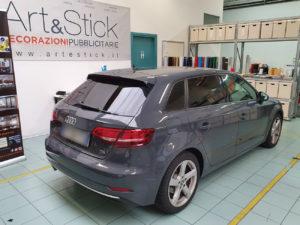 Audi a3 pellicola oscurata solare gradazione 20 thiene vicenza