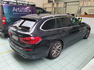 BMW 5 station wagon pellicola oscurata gradazione 15 thiene vicenza