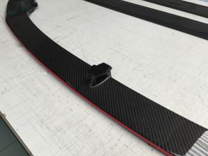 BMW M3 applicazione protettivo trasparente Hexis BodyFence su paraurti cofano passaruota tetto e parti carbonio 10
