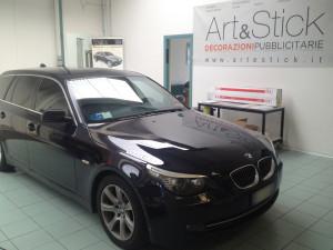 BMW SERIE 5 SW protettivo trasparente su cofano bodyfence