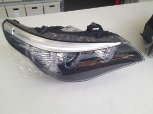 BMW SERIE 5 protettivo trasparente Bodyfence su fanali anteriori