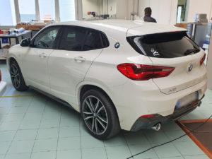 BMW X2 pellicola oscurata gradazione 15 thiene vicenza
