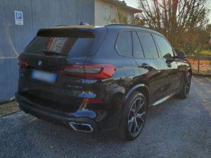 BMW X5 con pellicola oscurata gradazione 15 e 35 thiene vicenza
