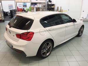 BMW serie 1 pellicola oscurata solare gradazione 05 35 thiene vicenza
