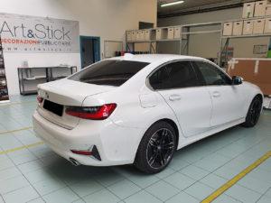 BMW serie 3 con pellicola oscurata gradazione 15 thiene vicenza