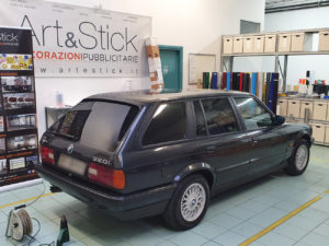 BMW serie 3 touring pellicola oscurata gradazione 05 thiene vicenza