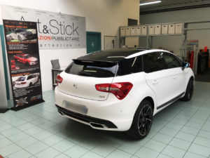 Car wrapping DS5 pellicola 3M 1080 bianco opaco