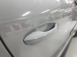 Car wrapping personalizzazioni Porsche GT3 RS grigio avery supreme wrapping film lucido