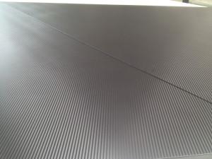 Decorazione pannelli stand fieristico Zancan Gioielli nero carbonio MyStand
