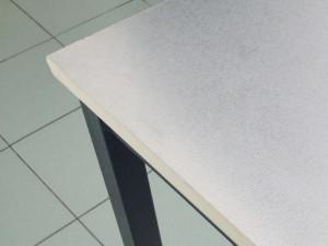 Decorazione riqualificazione mobili di arredo effetto alluminio spazzolato argento