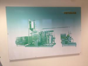 Decorazione tabelle adesivo stampato digitale ecosolvente grande formato