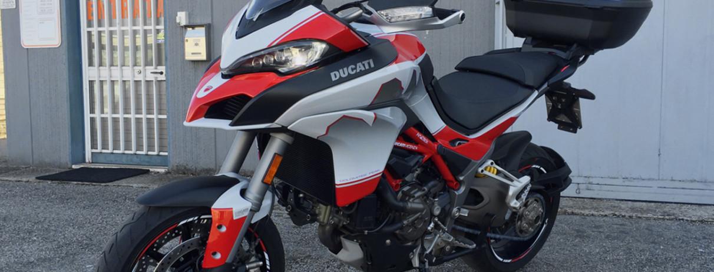 """Ducati Multistrada 1200 S replica edizione limitata """"Dolomites' Peak"""""""