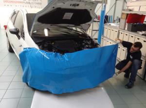 FIAT PUNTO VAN decorazione automezzo aziendale cast car wrapping prespaziati