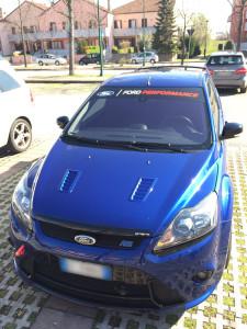 Fascia parasole personalizzata ford focus rs mk2