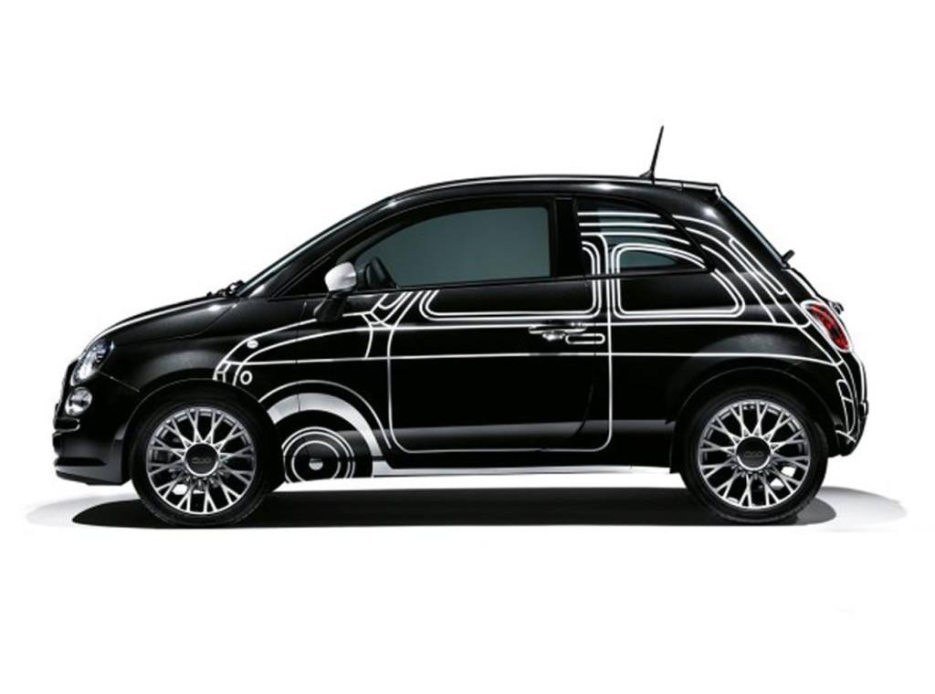 Fiat 500 - decorazione replica 500 Ron Arad Edition