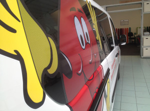Fiat Scudo fidas decorazione adesivi cast wrapping prespaziati one way microforati