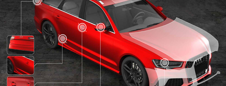 Film trasparente per la protezione della carrozzeria bodyfence hexis
