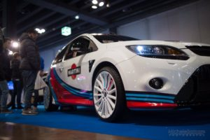 Ford Focus RS Martini edition wrapping artestick