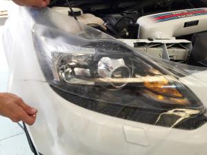 Ford Focus RS -protettivo-trasparente-Bodyfence-fanali-anteriori