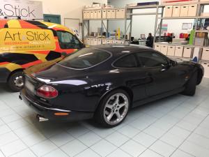 Jaguar XK-R pellicola oscurata solare gradazione 45 thiene vicenza