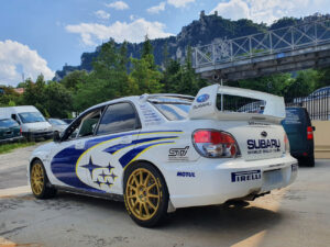 Kit adesivi Subaru Impreza replica livrea WRC 2006 sticker livery