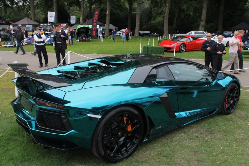 Lamborghini Aventador Thinglink