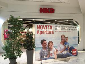 NKD ESTE decorazione con adesivi stampati in digitale insegna luminosa