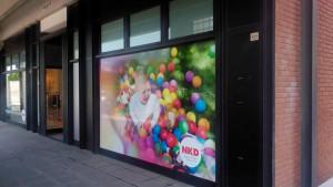 NKD SALSOMAGGIORE TERME - decorazione con adesivi stampati in digitale ed insegne 1