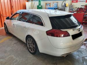 Opel Insigna con pellicola oscurata gradazione 20 thiene vicenza
