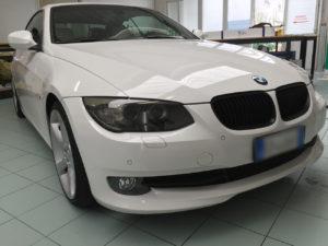 Oscuramento-protezione-fari-pellicola-oscurante-BMW serie 3 anteriori
