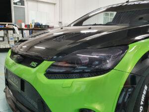 Oscuramento-protezione-fari-pellicola-oscurante-anteriori ford focus rs