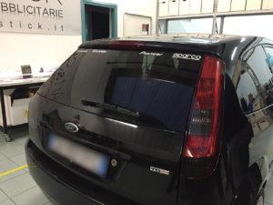 Oscuramento-protezione-fari-pellicola-oscurante ford fiesta