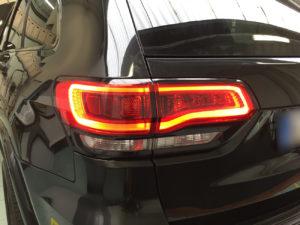 Oscuramento-protezione-fari-pellicola-oscurante jeep grand cherokee anteriori posteriori