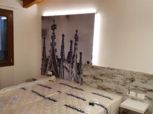 Personalizzazione camere hotel pellicole stampate