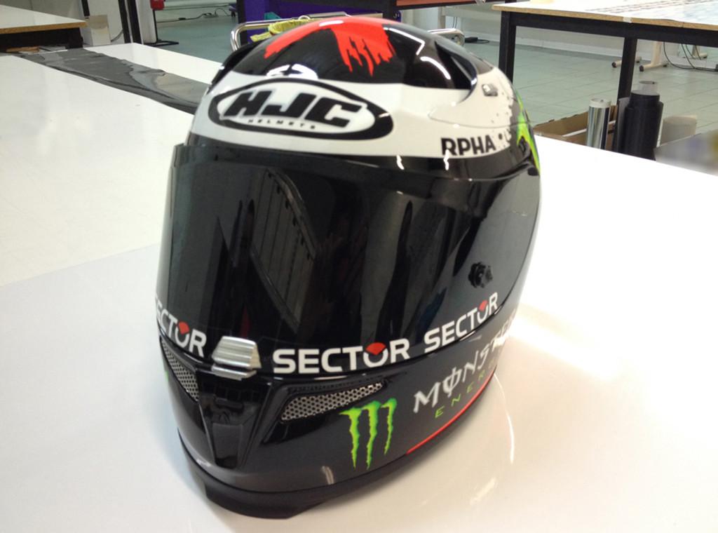 Personalizzazione casco HJC replica Lorenzo