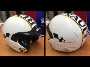Personalizzazione casco Sparco Renault Sport