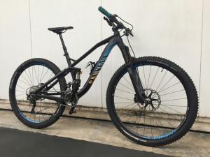 Personalizzazioni varie su bici 2 canyon