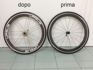 Personalizzazioni varie su ruote bici 1 ursus