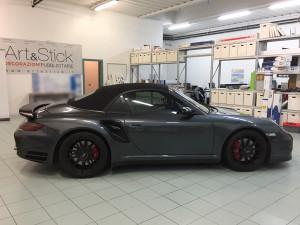 Porsche 997 cabrio pellicola oscurata solare gradazione 45 thiene vicenza