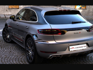 Porsche Macan by 2M Design wrapping