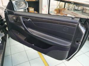Rivestimenti interni Mercedes CL 500 da radica a carbonio lucido sott elemento6 car wrapping
