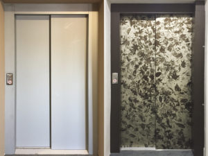 Rivestimento ascensori con stampa digitale artestick